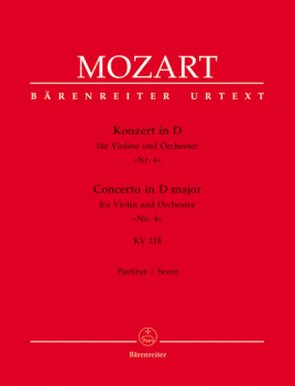 Mozart Concerto in D Major for Violin and Orchestra