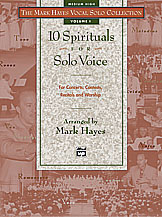 10 Spirituals for Solo Voice Medium High