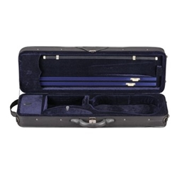 Toshira TC59X Violin Case, 4/4 - Blue