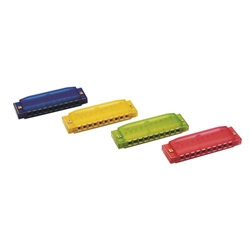 CCH48 Hohner Clearly Colorful Harmonica