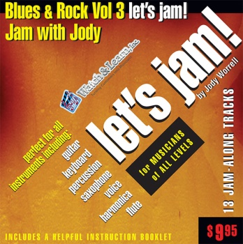 Blues & Rock Vol. 3 Let's Jam CD