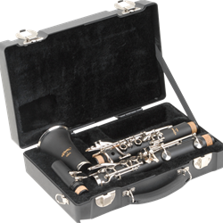 1SKB-320 SKB 320 Rectangular Clarinet Case