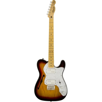 Fender 0301280500 Squier Vintage Modified 72 Thinline Tele - 3TS