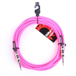 EP1718P Dimarzio 18' Fabric Cable - Neon Pink