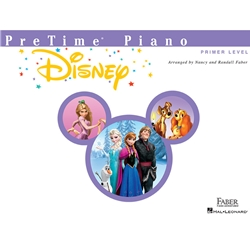 Faber Pretime Piano Disney Primer Level