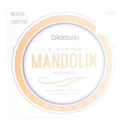 D'Addario EJM74 Monel Mandolin Strings