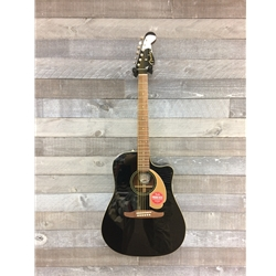 Fender Redondo A/E Guitar - Jetty Black